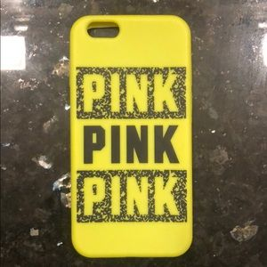 iPhone 6 VS pink case